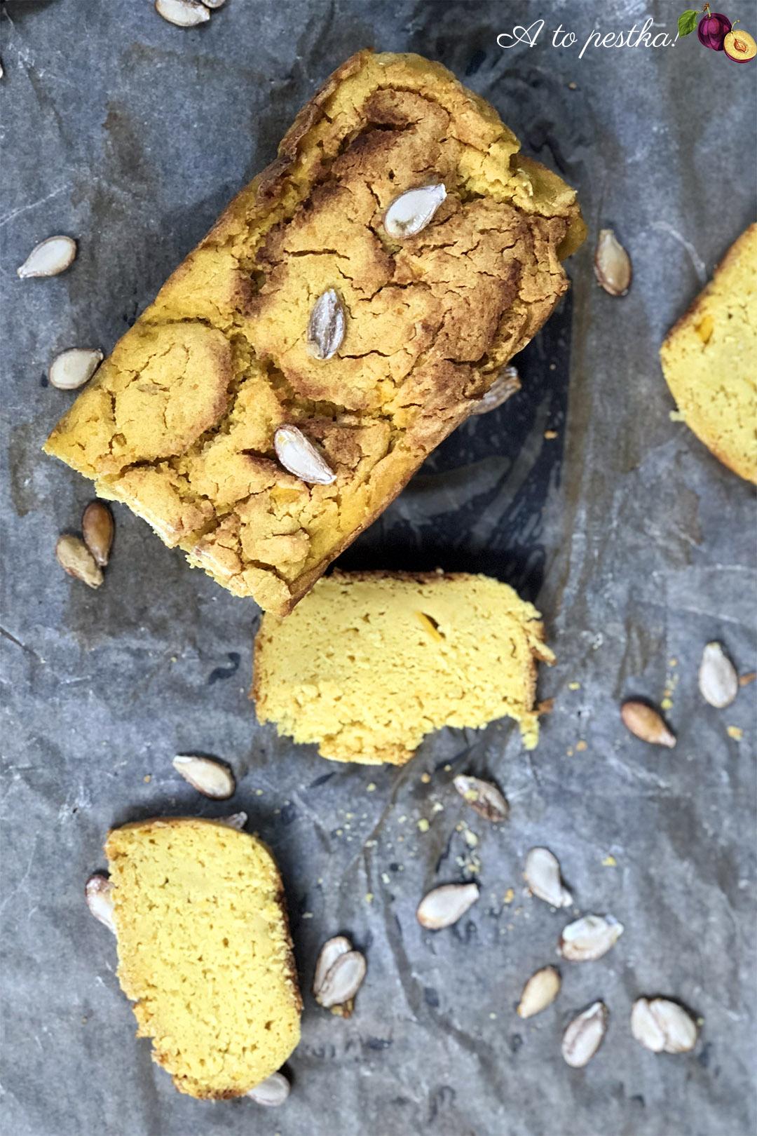 Chleb bezglutenowy z dyni piżmowej