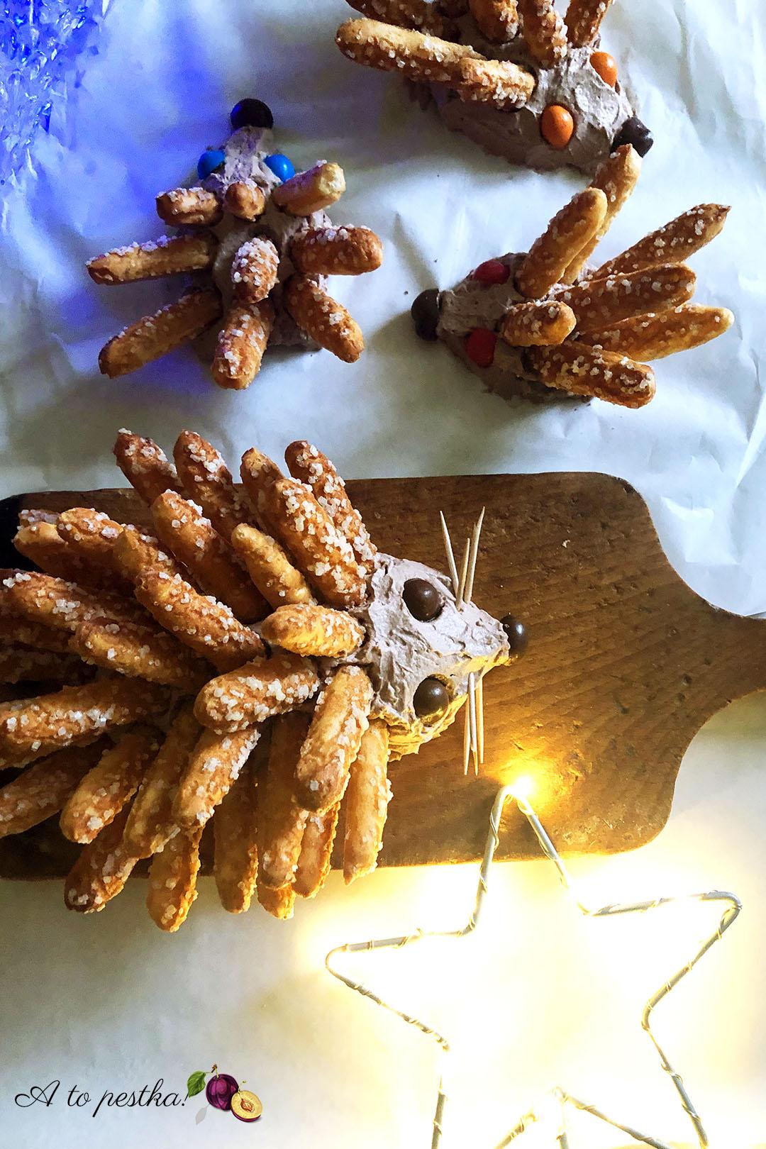 Słodki jeżyk czyli świąteczny deser bez pieczenia